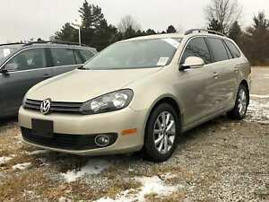 2013 Volkswagen Golf Wagon Comfortline/TDI/ SUNROOF/HEATED SEATS