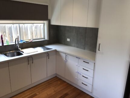 Laminex kitchen all cupboards and sink