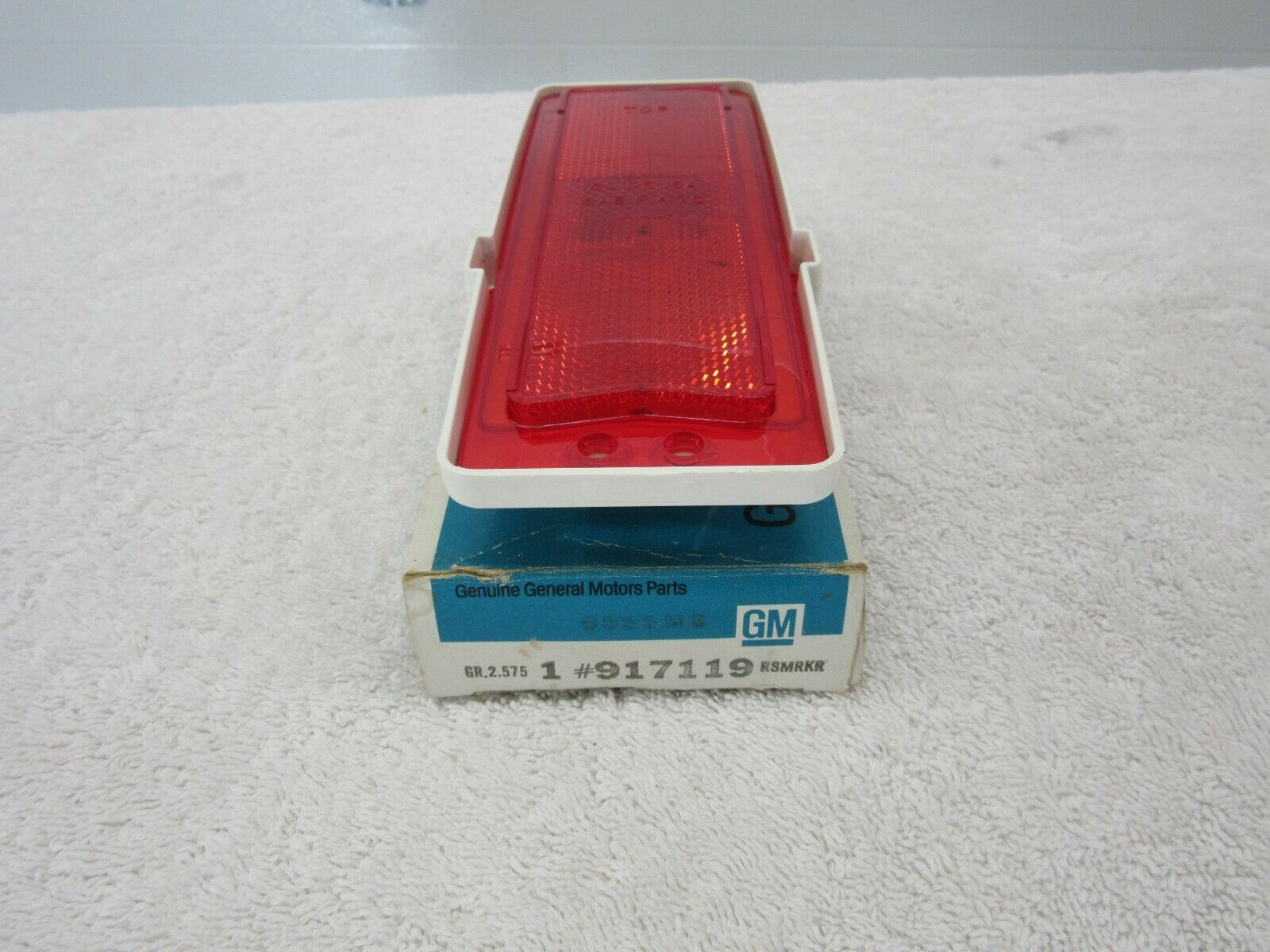 NOS 1970 Impala Caprice Rear Quarter Side Marker Lamp Assembly GM 917119  dp