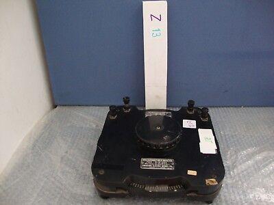 Vintage  Yokogawa Variable Self Inductor Type Si-b-500 1964
