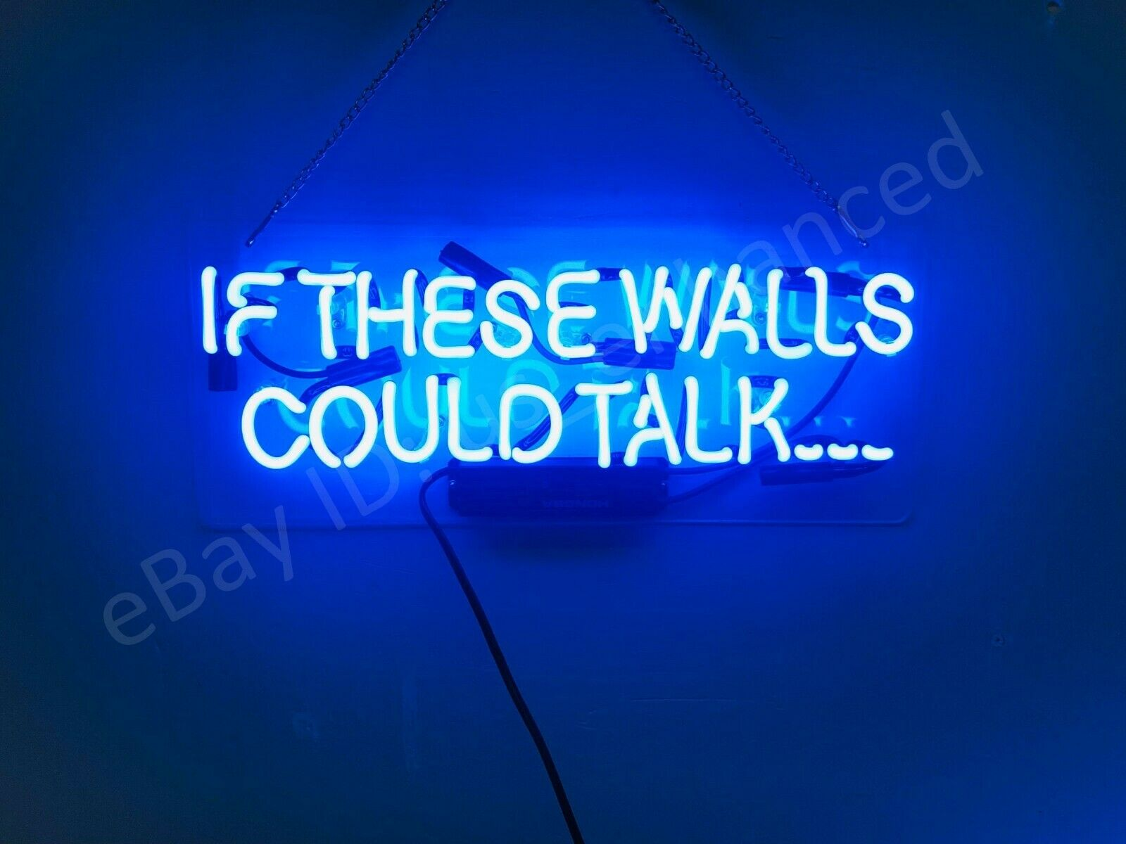 If These Walls Could Talk Neon Sign Acrylic Gift Light Lamp