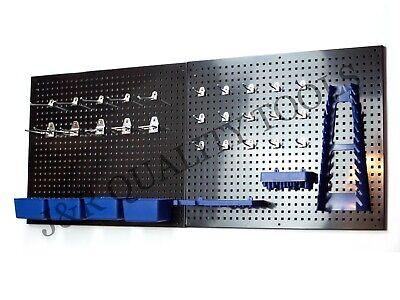 Vct Metal Peg Board Organizer Rack Wall Control Garage Storage Galvanized Steel