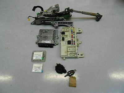 2005 Volvo V50 S40 2.0 diesel engine ECU kit with ignition & key 30743623