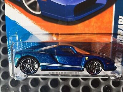 2011 Hot Wheels Nightburnerz Enzo Ferrari - Factory Sealed Set - FREE SHIPPING