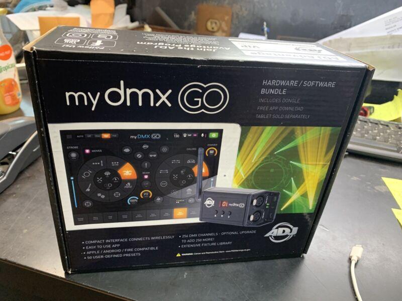 mydmx GO lighting control interface/app