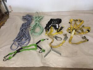2 harness and safety lines