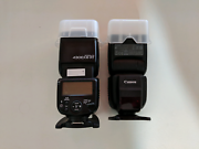 Canon 430EX III-RT flash (x2) box and receipts included Lidcombe Auburn Area Preview