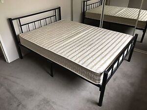 Bed frame with base and mattress Bankstown Bankstown Area Preview