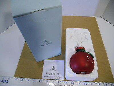 PartyLite Scents of Ambiance Snowflake Fragrance Diffuser #P90762 - NEW