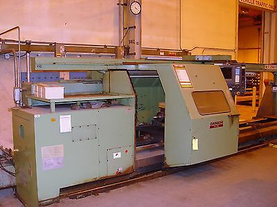 Dainichi M85 X 4000 Cnc Lathe Fanuc 15-t Control Twin Turret Tailstock 1800 Rpm