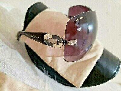 BVLGARI 6054B Shield Sunglasses-Burgundy Purple Gradient