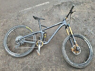 Mens full suspension mountain bike large