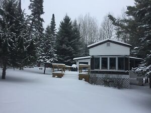 Partially renovated unit on private end lot @ Tall Timber Lodge