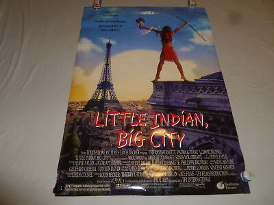 Original Movie Poster Little Indian Big City 2 Sided 1994 Touchstone Pictures