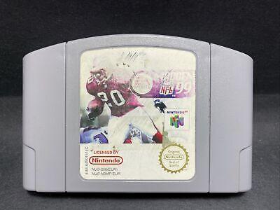 N64 Nintendo 64 Game - Madden NFL 99 - PAL