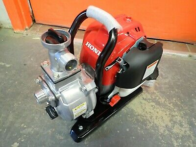 New 2019 Honda Wx10ta Portable 1 Water Pump 32 Gpm Capacity 25cc Engine