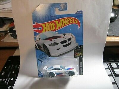 BMW Z4 M Motorsport #172 White Nightburnerz 7/10 2020 Hot Wheels Case J/K