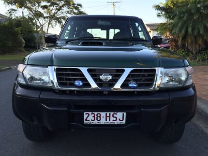 -->Nissan Patrol TURBO DIESEL 4X4,Low kms,RWC+Long REGO,excellent cond Mansfield Brisbane South East Preview