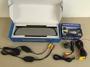 Wireless Car Rear View/reverse camera kit CAR CAMERA+MIRROR+WIREL Campbellfield Hume Area Preview