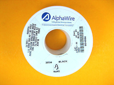 Alpha Wire - 3050 - Wire Hook-up 24 Awg 732 0.016 0.057 -40c 300v