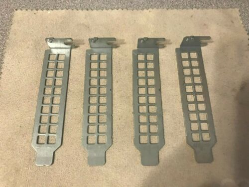 Lot of 4 Dell Optiplex Half Height PCI Blank Slot Covers 990 7010 960 7020 9020