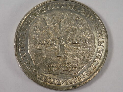 Bicentennial COIN Palm Beach Kiwanis Club Sand Dollar 1776-1976 Eagle