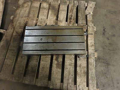 12 X 24.50 X 4 Steel Weld T-slot Table Cast Iron Layout Plate Fixture Jig