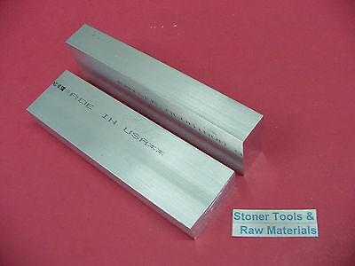 2 Pieces 1 X 2 Aluminum 6061 Flat Bar 6 Long Solid T6511 New Mill Stock