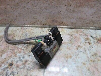 Smc Solenoid Valve Model Vf2220 Dc21-26v Mori Seiki Mv-45b Cnc Vertical Mill