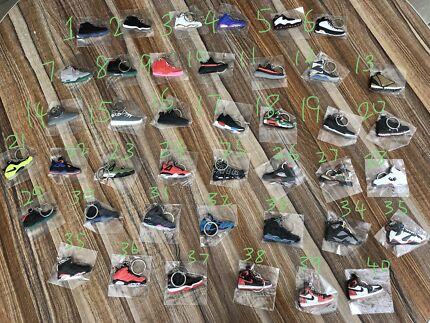 Sneakers Keyrings
