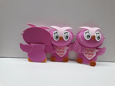 3D Cute Baby Shower Owl Foam for Decoration 10pcs