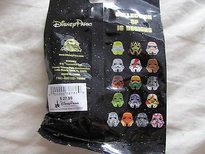 Disney Trading Pins 116619 Star Wars Stormtrooper Helmets Mystery Set