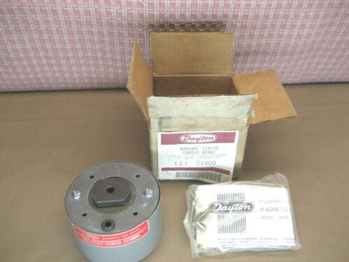 Dayton 5X400 Nominal Static Torque Brake 115V J-91 Torque 3/8-3/4 Ft Lbs 687X