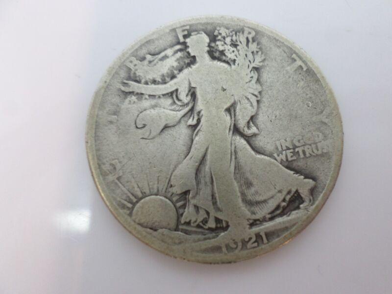 1921 Walking Liberty Half Dollar