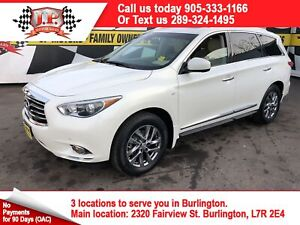 2015 Infiniti QX60 Navigation, Leather, 3rd Row Seating, AWD