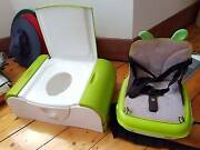 Potty and booster seat. Pickup only. Ormond Glen Eira Area Preview