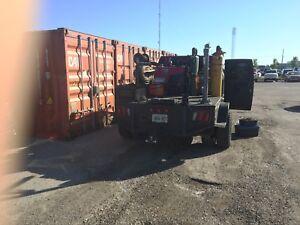 Mobile equipment welding