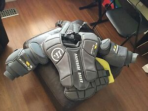 Warrior youth goalie chest protector