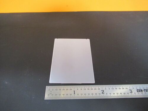 QUARTZ PLATE SINGLE CRYSTAL X-CUT PIEZOELECTRIC BLANK AS PICTURED &3K-A-97