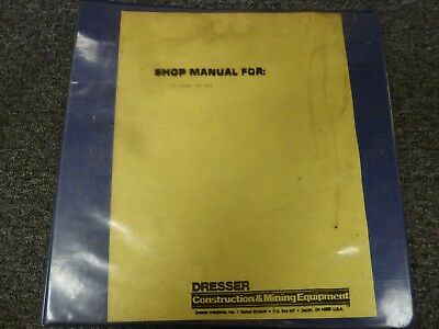 Galion Dresser 125 Hydraulic Mobile Crane Service Repair Manual Sn 01150-08774