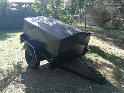 3x5 trailer with removable steel canopy