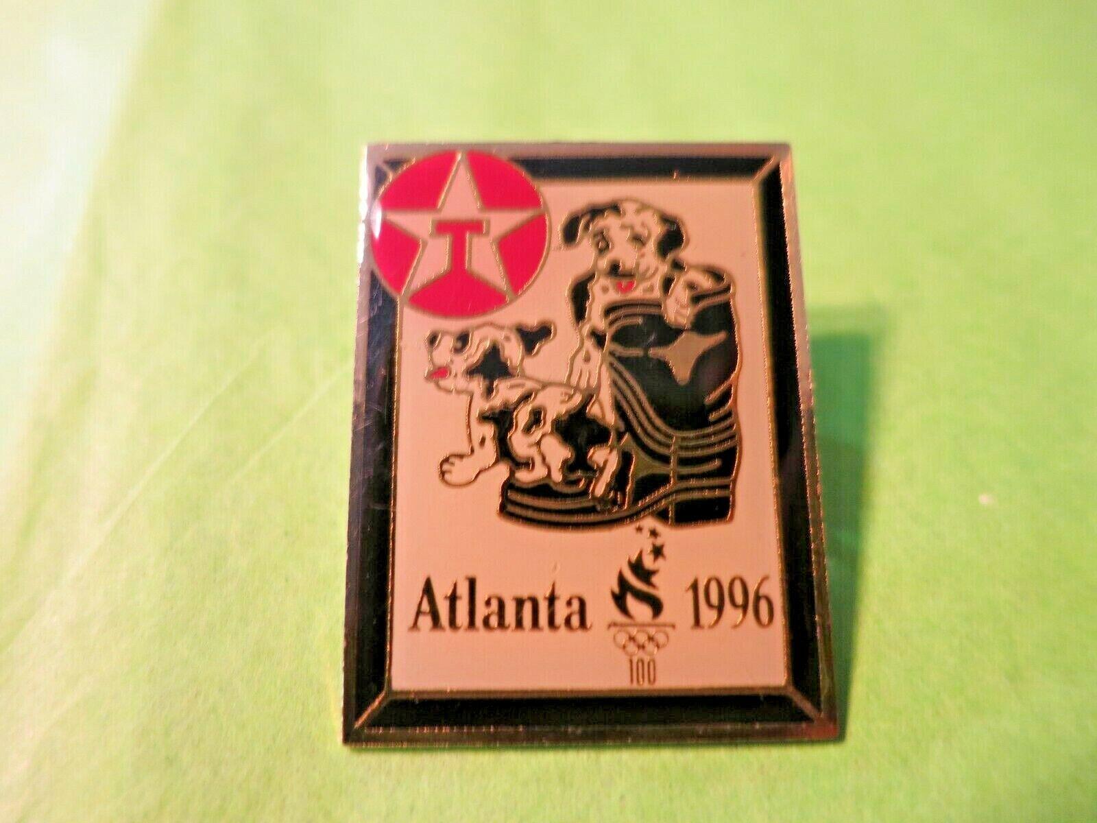 Texaco Sponsor Atlanta 1996 Olympics 1992 Lapel Pin ACOG Hat Push Pin - $3.99