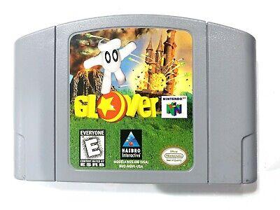 Glover Nintendo 64 N64 Spiel Getestet + Aktiv & Echte