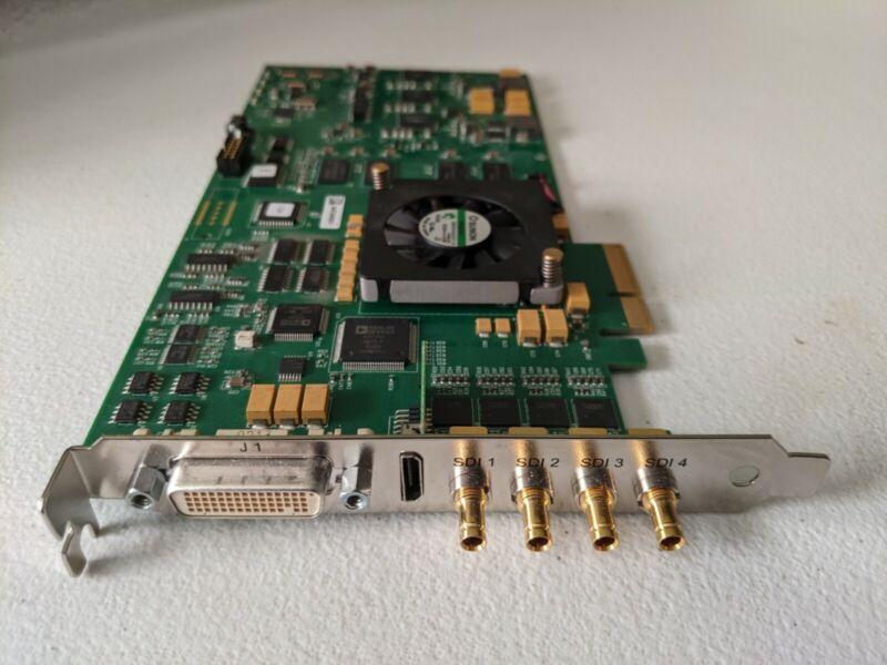 AJA Kona 3G Dual Link 4K/3G/HD/SD UltraHD HDMI DVI PCI-E Capture Card KONA-3G-R0