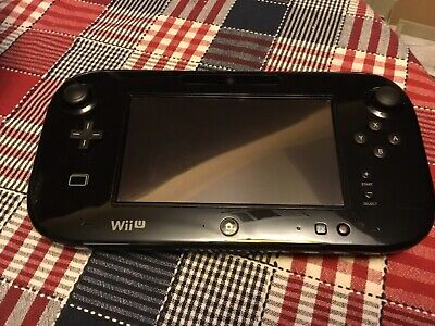 Official Genuine OEM Nintendo Wii U Black Gamepad Only