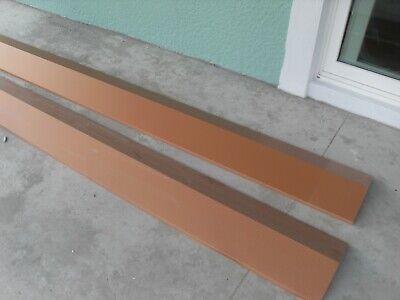 7 Pcs. Rc-1 26 G. 5v Copper Penny Metal Roof Ridge Cap- 10 Length