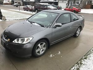 Safetied 2005 Civic Si (Manual)