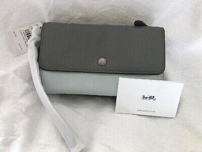 BNWT COACH leather purse /wristlet