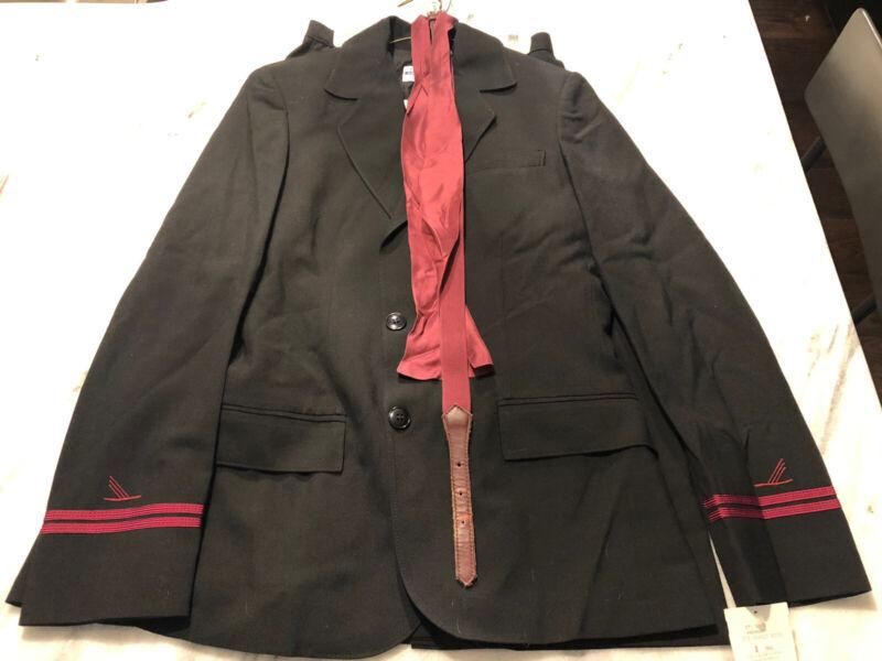 Vintage Piedmont Airlines Stewardess Uniform (6 Piece) NWT. Size 8T