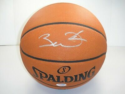 c3e45ed3b8d73 DWYANE WADE PSA/DNA SIGNED OFFICIAL NBA LEATHER GAME BASKETBALL AUTOGRAPHED  HOF